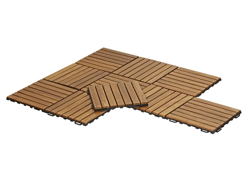 Freeport Park Stallings Outdoor Floor 118 X 118 Wood