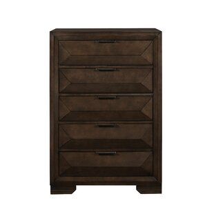 Order Boos 5 Drawer Chest by Wrought Studio