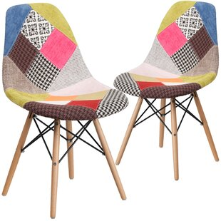 Ressler Patchwork Side Chair (Set of 2) by Wrought Studio