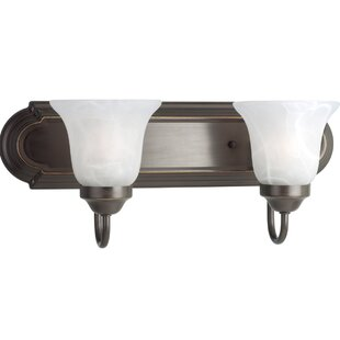 Savings Kartik Traditional 2-Light Vanity Light By Red Barrel Studio