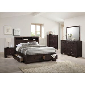 Modern Wood Bedroom Furniture modern & contemporary wood bedroom sets you'll love | wayfair