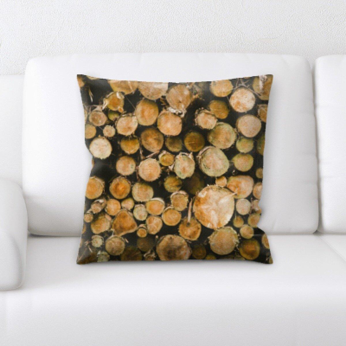 Millwood Pines Weinberg Throw Pillow Wayfair