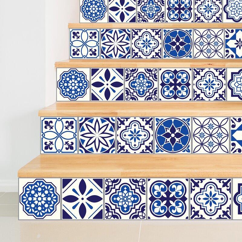 Walplus Stickers 237 W X 355 L Pvc Peel Stick Mosaic Tile In