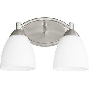 Online Reviews Brophy 2-Light Vanity Light By Fleur De Lis Living