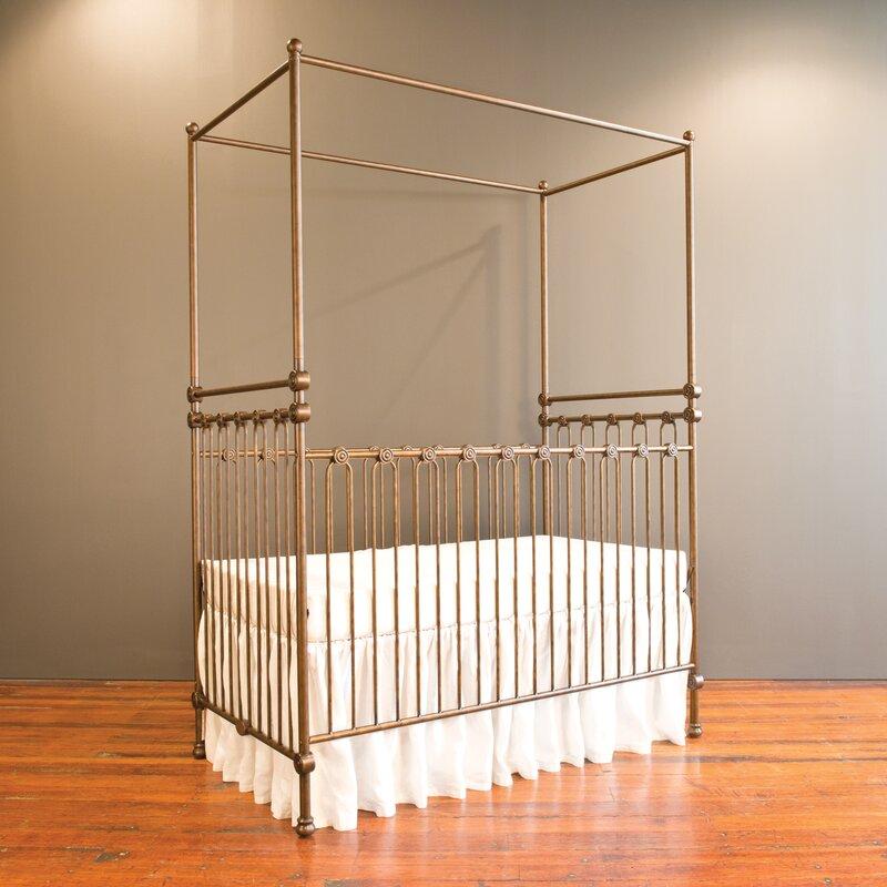 Grey Metal Cribs You\'ll Love | Wayfair