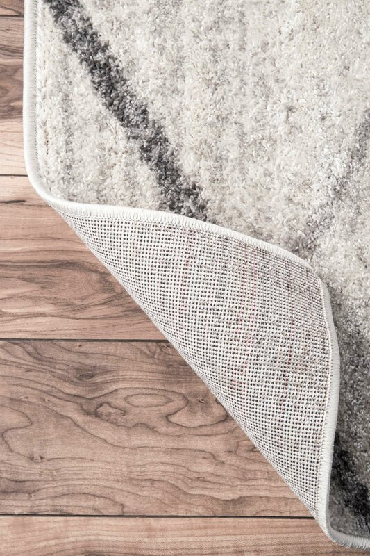 urban facettes teppich azha in hellgrau bewertungen. Black Bedroom Furniture Sets. Home Design Ideas