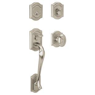 Bethpage Single Cylinder Handle Set with Bethpage knob