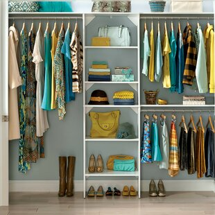 Suitesymphony 84 W 120 Closet System With Top Shelves