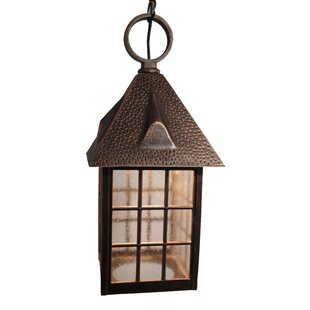 Flannigan 1-Light Outdoor Hanging Lantern