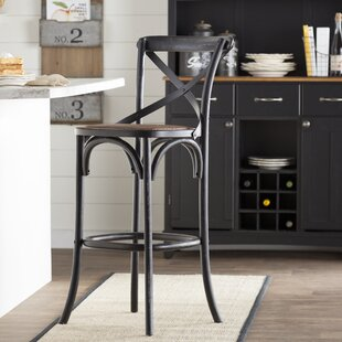 Carterville 29.5 Bar Stool Greyleigh