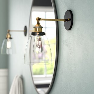Online Reviews Iron Gate 1-Light Armed Sconce By Greyleigh