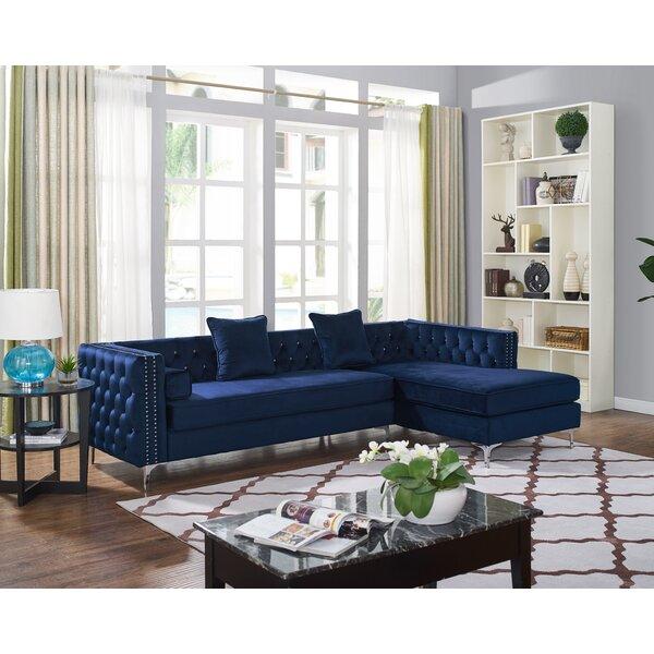 Royal Blue Sectional Wayfair