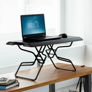 Laptop Height Adjustable Standing Desk Converter by VARIDESK