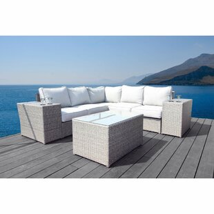 Normandy 8 Piece Sectional Set with Cushions