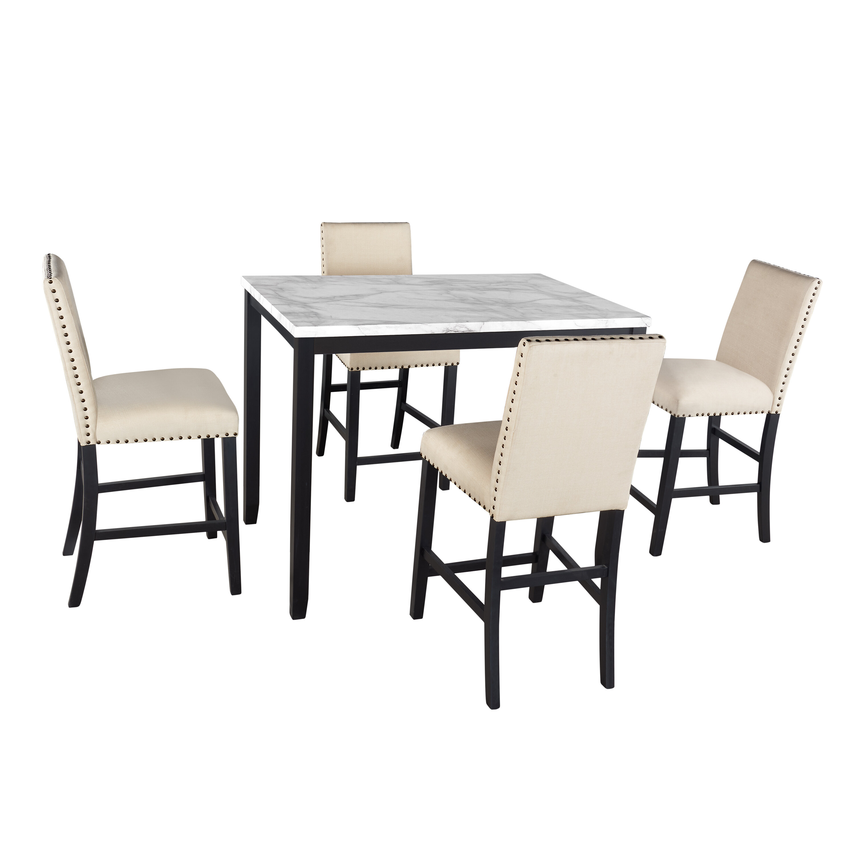 Beige Reclaimed Kitchen Dining Room Sets You Ll Love In 2021 Wayfair