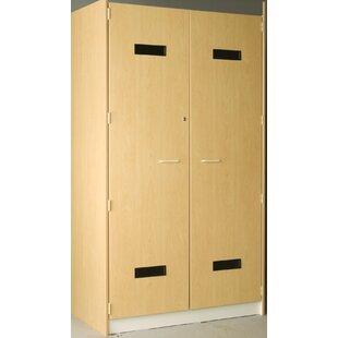 Music 1 Tier 2 Wide Uniform Storage Locker by Stevens ID Systems