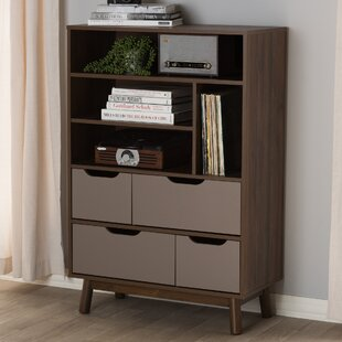 Inexpensive Hilson Bookcase By Wrought Studio