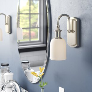 Affordable Price Fedele 1-Light Bath Sconce By Charlton Home