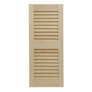 Louvered Pine Shutter