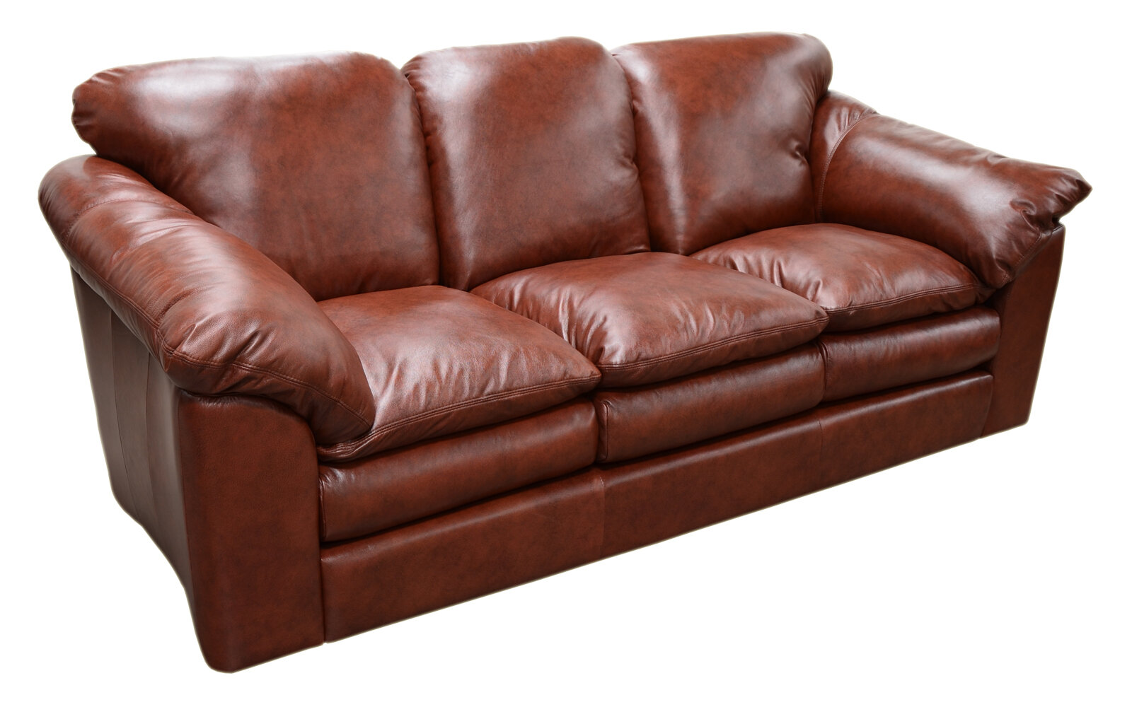 Marvelous Omnia Leather Oregon Leather Sofa Reviews Wayfair Squirreltailoven Fun Painted Chair Ideas Images Squirreltailovenorg
