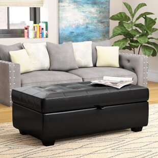 Canter Tufted Storage Ottoman