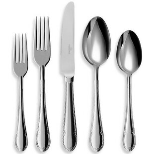 Mademoiselle 64 Piece Flatware Set, Service for 12