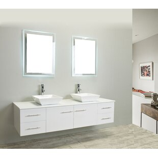 Shop For Vinit 60 Wall-Mounted Double Bathroom Vanity Set By Orren Ellis