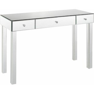 Borrello Park 3 Drawer Mirrored Console Table