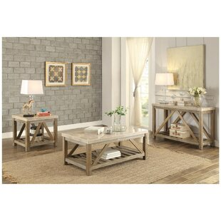 Ischua 3 Piece Coffee Table Set