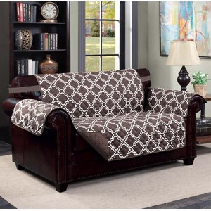 Macy Box Cushion Loveseat Slipcover by Kashi Home