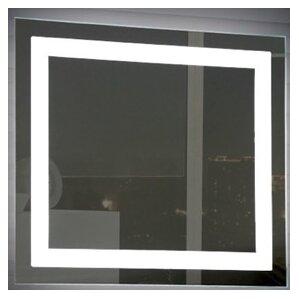 Square Illuminated Vanity Mirror