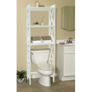 bathroom space saver 245 w x 62 h over the toilet storage