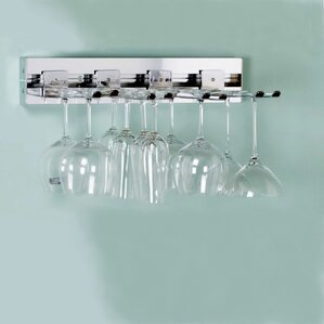 Arrange a Space Wall Mounted Wine Glass Rack by Orginnovations Inc