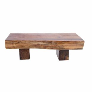 Buy luxury Bell Natural Wood Coffee Table by Foundry Select
