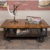 Jambusaria Vintage Factory Coffee Table by 17 Stories