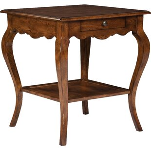 Townsend Square End Table with Storage by Fairfield Chair