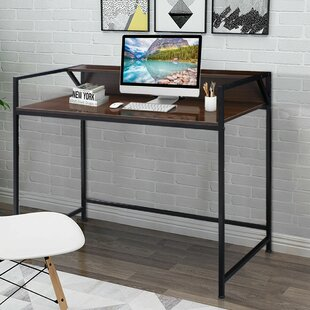 Wolfsburg Computer Desk with Hutch
