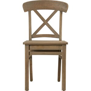 Corral Solid Wood Dining Chair by Loon Peak