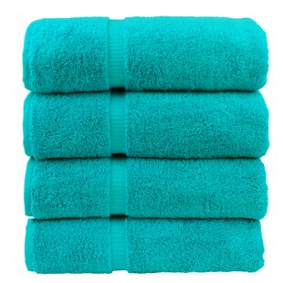 Orchid 100% Cotton Bath Towel (Set of 4)