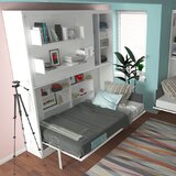 Parete Letto Wall Twin Murphy Bed by Multimo