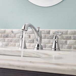 Linden� Widespread Double Handle Bathroom Faucet and Diamond Seal Technology