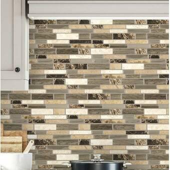 Smart Tiles Milenza 9 X 10 Gel Peel Stick Mosaic Tile Reviews Wayfair