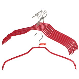 Find a Canyon Metal Non-Slip Hanger (Set of 10) BySymple Stuff