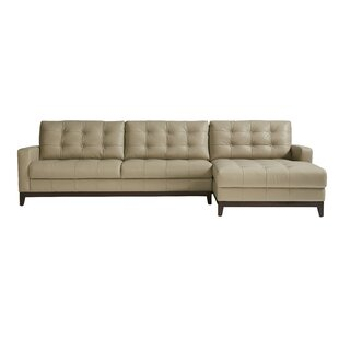 Erdman Leather Sectional