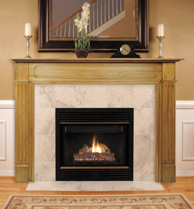 The Williamsburg Fireplace Mantel Surround Pearl Mantels  Reviews