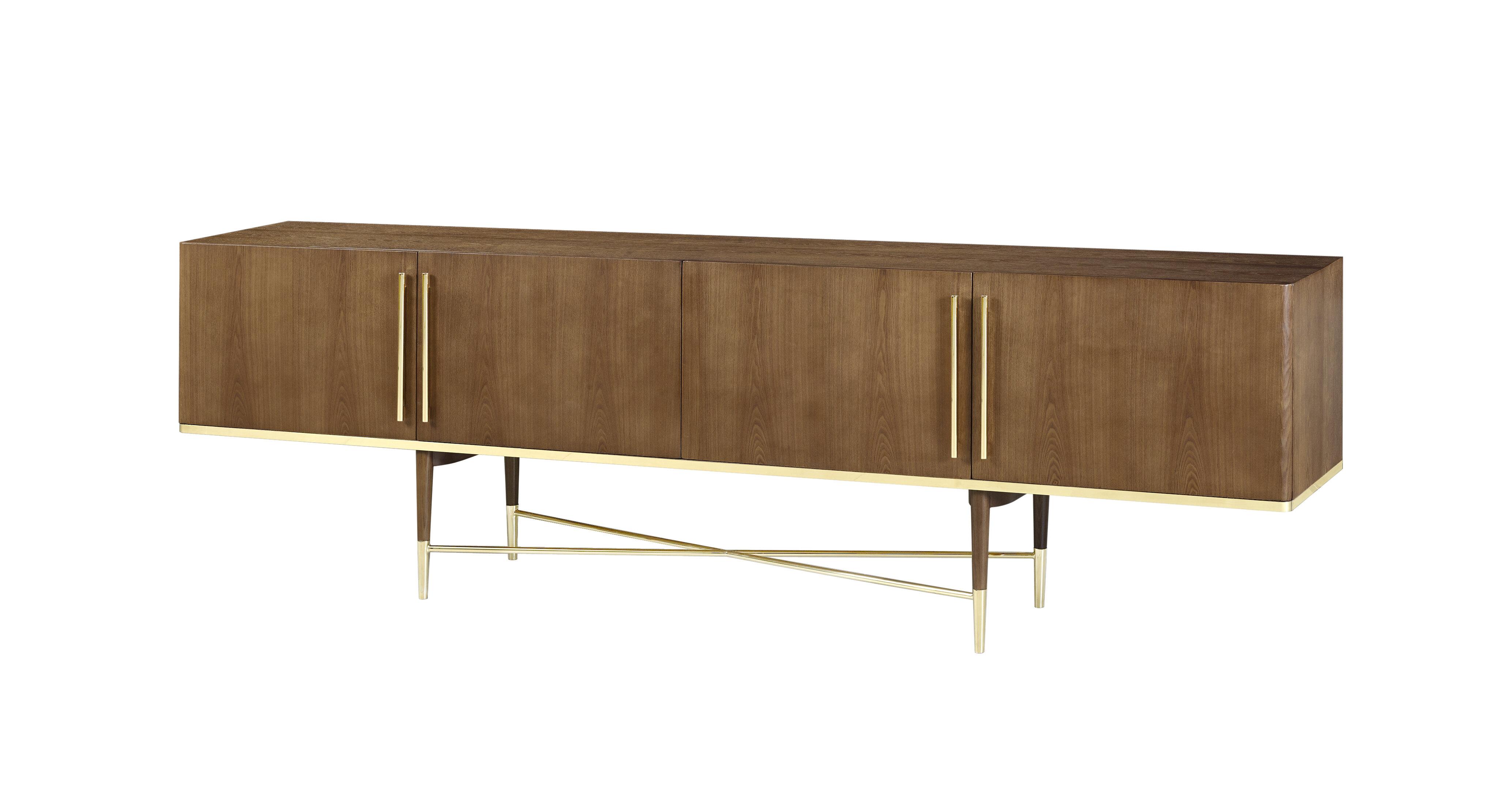Everly Quinn Ivanhoe Mid Century Modern Sideboard