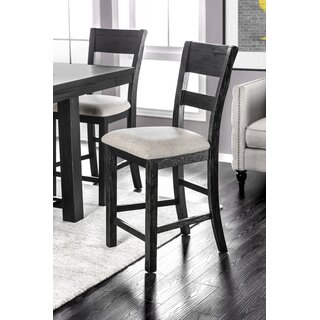Aiden Upholstered Dining Chair (Set of 2) by Gracie Oaks SKU:BA759942 Details