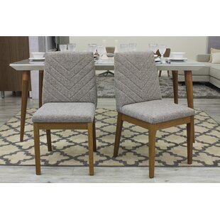Taub Upholstered Dining Chair (Set of 2) Union Rustic