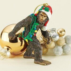 Bigfoot the Holiday Yeti Ornament