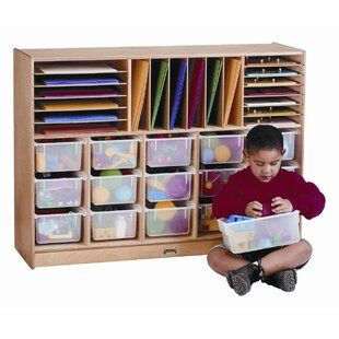 Comparison Sectional E-Z Glide 30 Compartment Cubby with Casters ByJonti-Craft